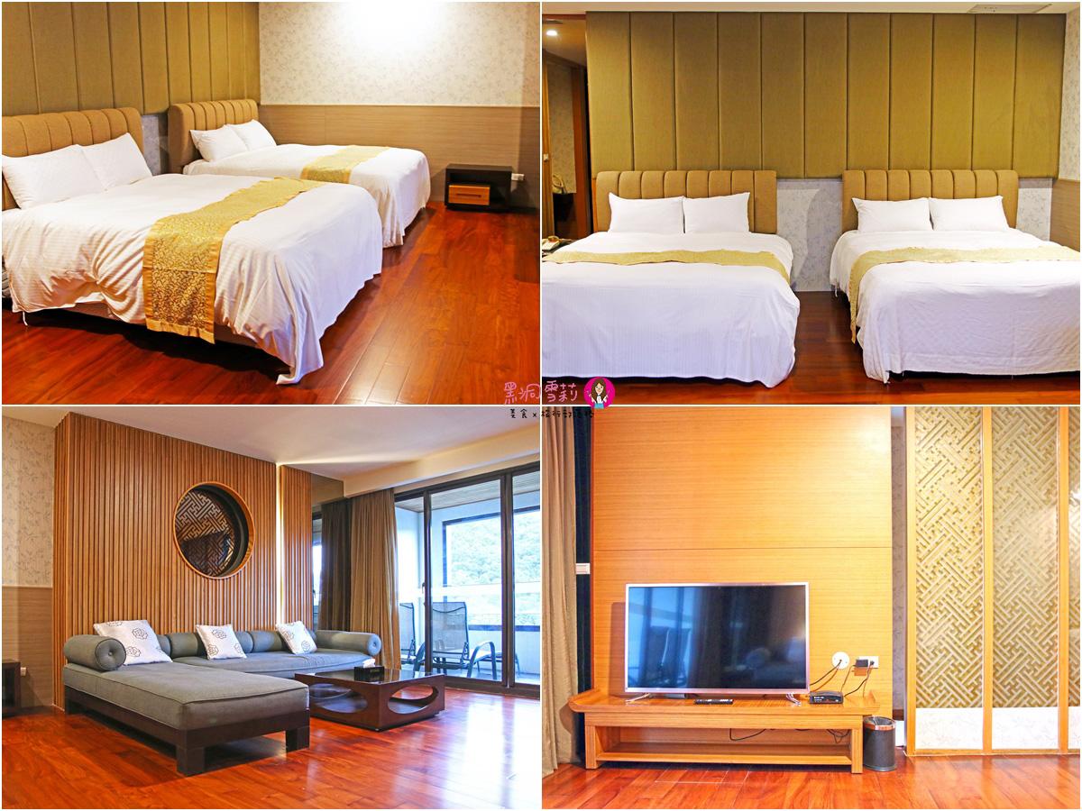 雙湯溫泉家庭套房房間-陽明山溫泉會館推薦